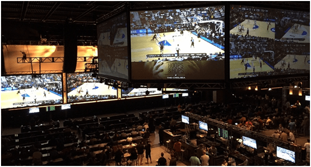 March madness at casinos