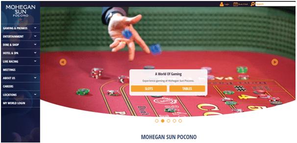Mohegan sun sports betting site