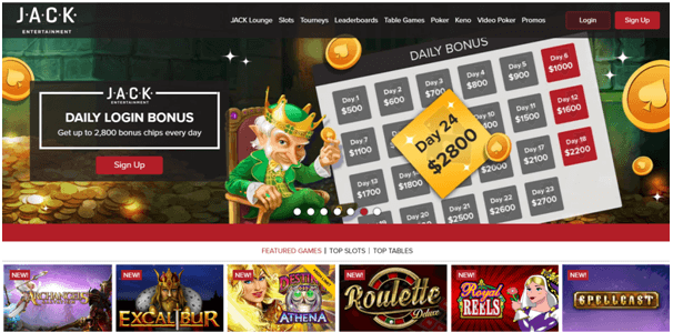 Online Jack Casino Discounts and bonus