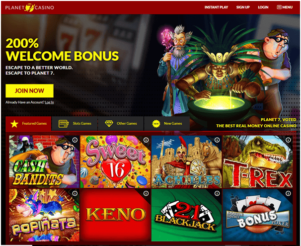 Planet7 Casino No Deposit