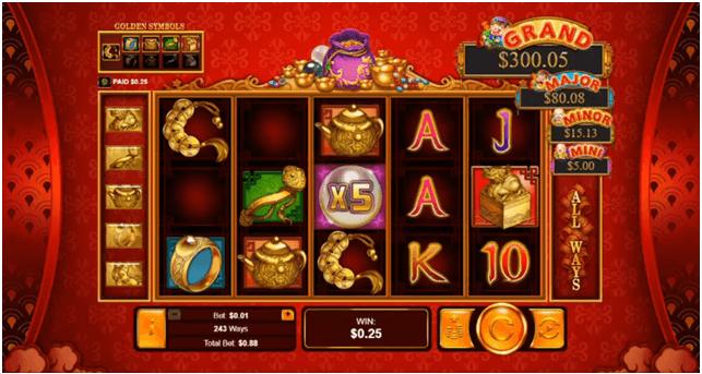 How to play plentiful treasure