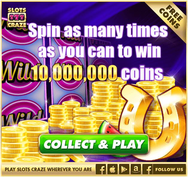 Slots Craze Bonus