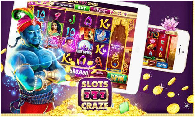 Slots Craze game app