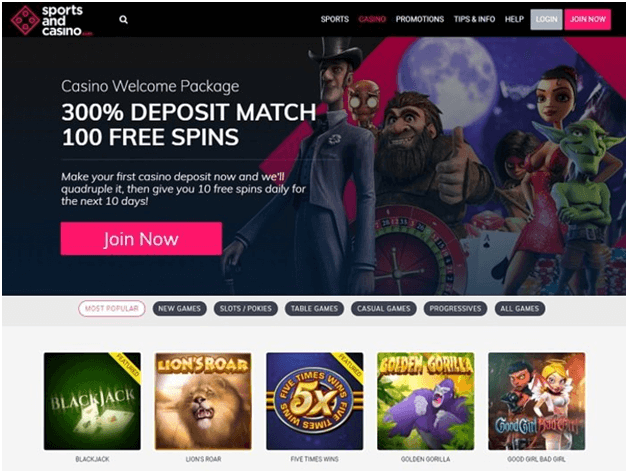 Sports and Casino free chips