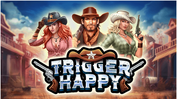 Trigger happy slot with bonuses