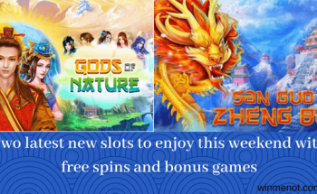 Two latest new slots to enjoy this weekend with free spins and bonus games