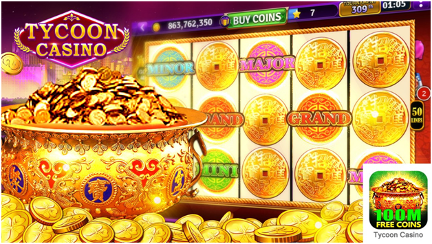 ycoon Casino - how to get free coins