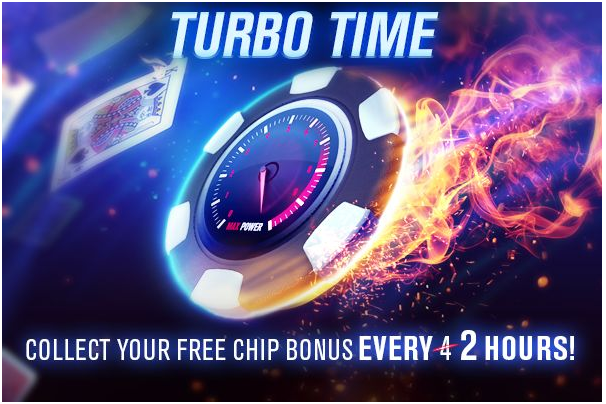 WSOP- Turbo time to get free chips