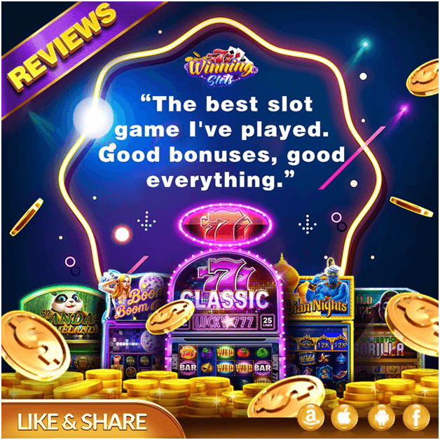 Winning slot game free coins