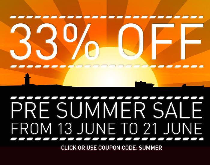 WinNc summer sale - 33 percent off