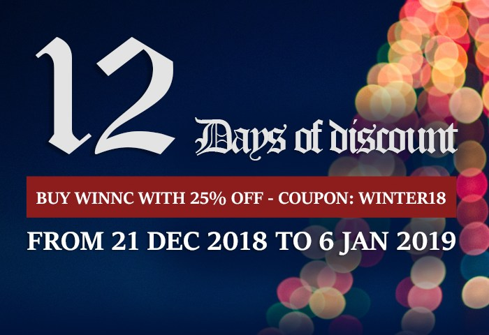 WinNc discount 2018
