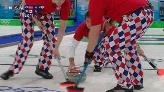 Curlingteam Noorwegen