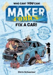 Kids-Maker-Comics-Fix-A-Car