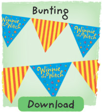 Make your own Winnie bunting