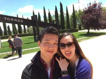 drinking too much @ Torres Winery
