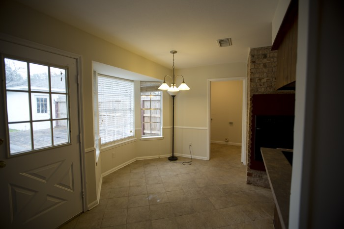 Photo of under-exposed and poorly composed real estate photo interior