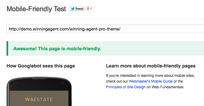 Does your website pass the Google Mobile-Friendly Test? It Better!