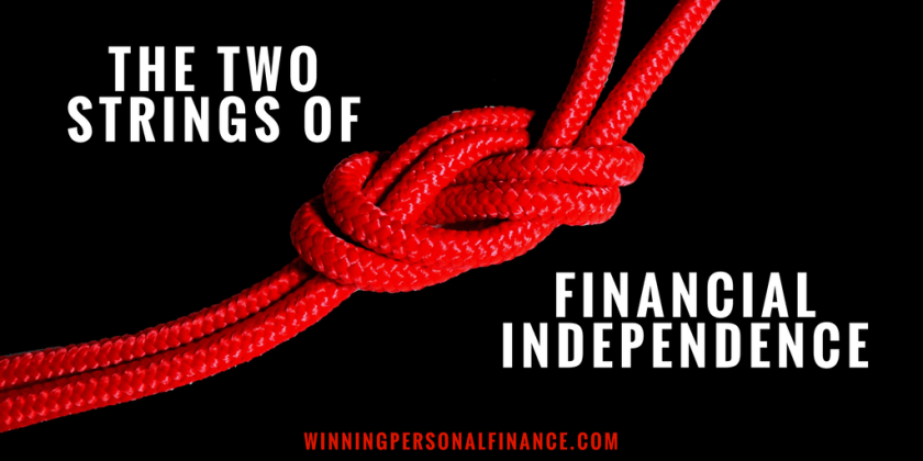 two strings of financial independence