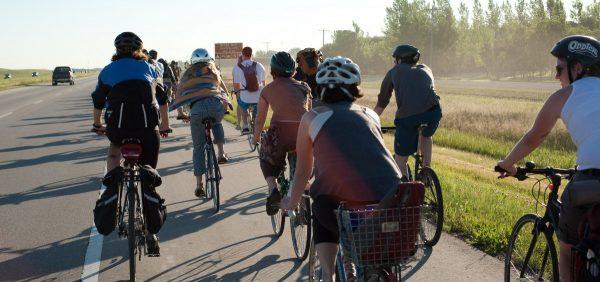 Winnipeg Folk Festival bike photo