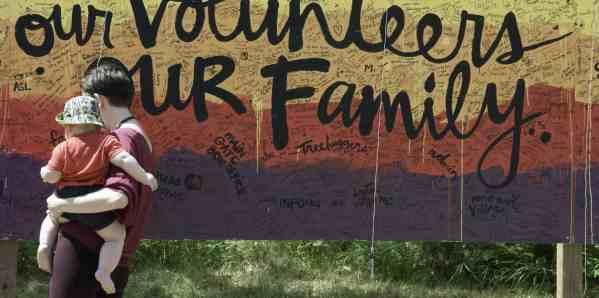 Winnipeg Folk Festival family