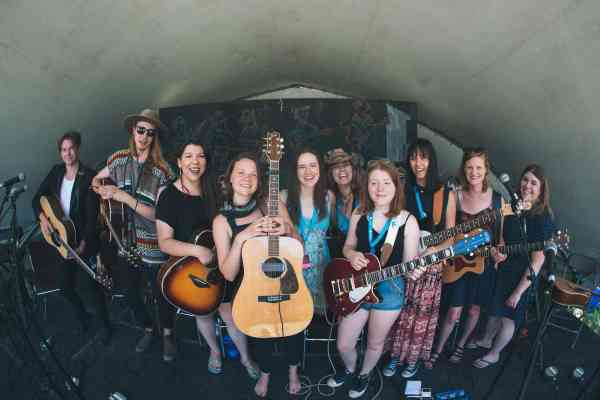 Winnipeg Folk Festival performers photo