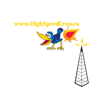 high speed crow logo
