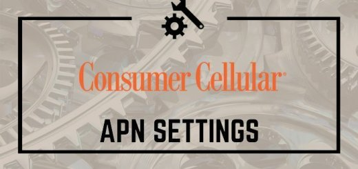 Consumer Cellular APN Settings 1
