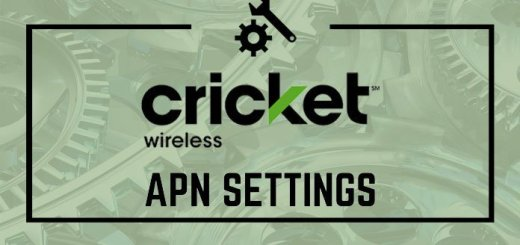 Cricket Wireless APN Settings