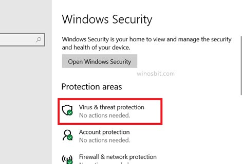 Защита от вирусных угроз в безопасности Windows