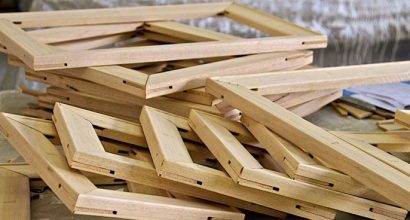 Canvas Support Structures - Wooden Stretcher frames