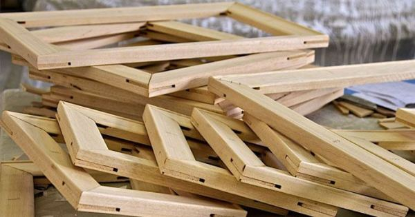 Support Structures - Wooden Stretcher frames