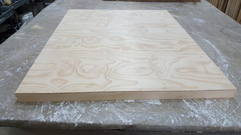 Pine Plywood textured surface
