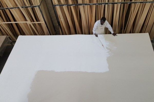 Priming Loose Canvas