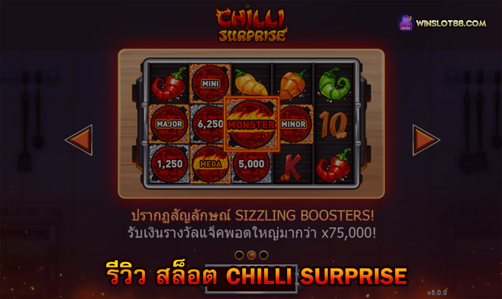 You are currently viewing รีวิว สล็อต Chilli Surprise