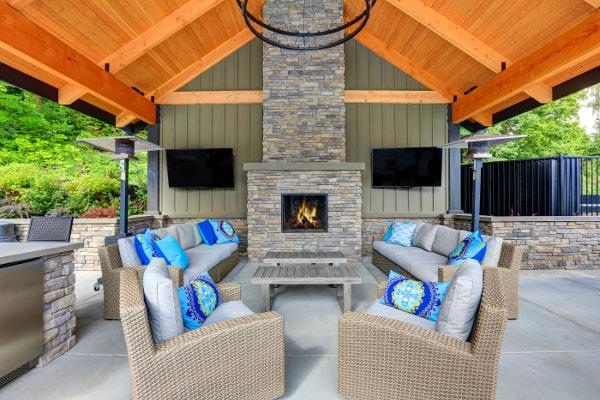 winston salem nc outdoor fireplace