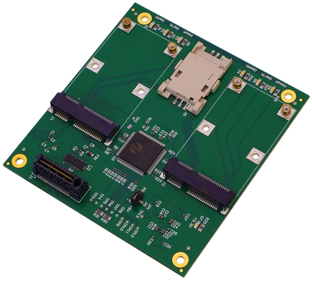 Dual Mini PCIe Module for PC/104 OneBank | WinSystems