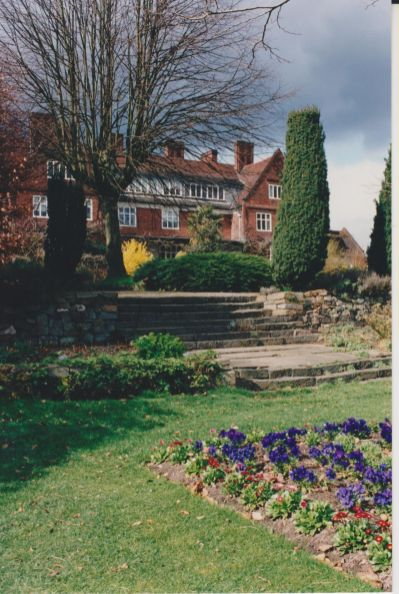 Lower Lawn steps, c. 1990, Winterbourne House and Garden, Digging for Dirt