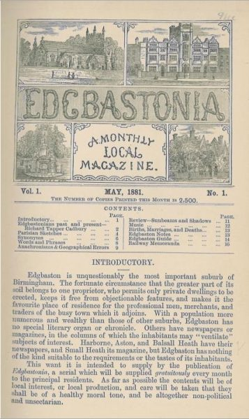 Screen shot of Edgbastonia