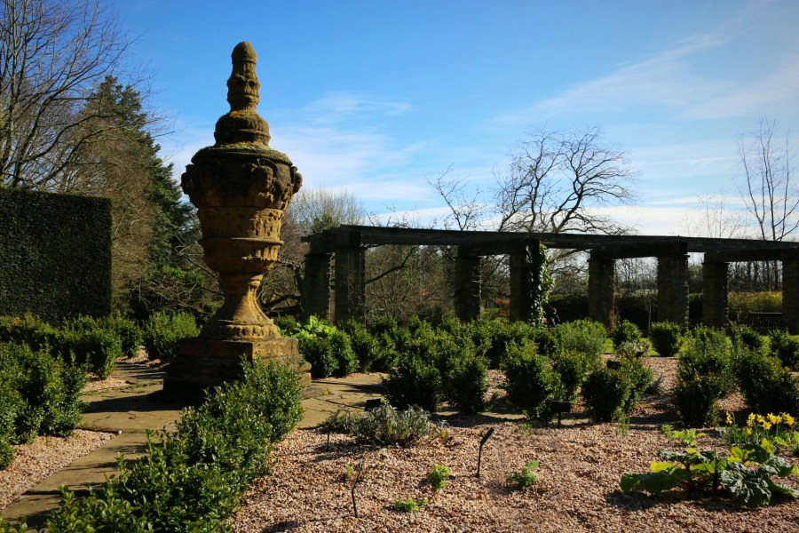 The Herb Circle, photograph by Chris Howell, Winterbourne House Garden, Digging for Dirt