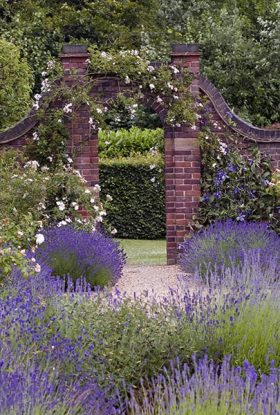 The Walled Garden, photograph by Jenny Lilly, Winterbourne House and Garden, Digging for Dirt