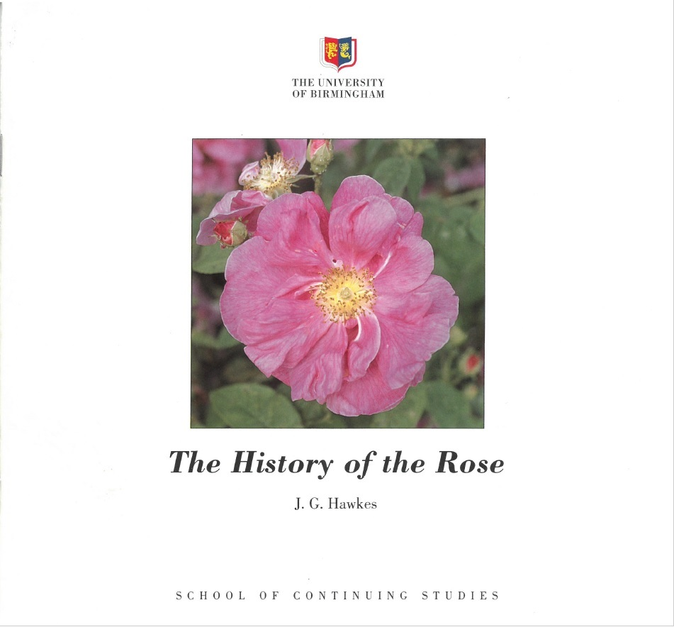 Professor J.G. Hawkes wrote this guide in 1995 to accompany the National Collection, Now and Then June, Winterbourne House and Garden, Digging for Dirt