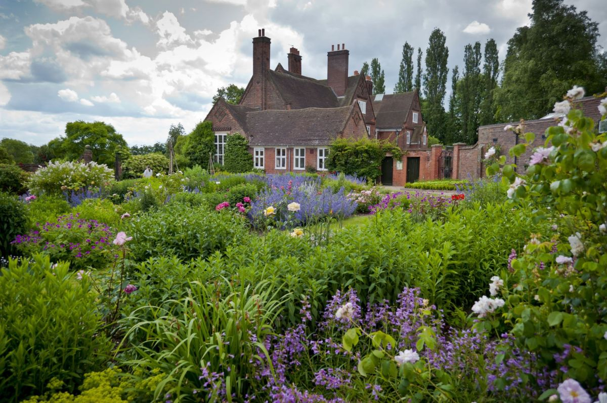 The Walled Garden today, photograph by Mark Barrett, Now and Then June, Winterbourne House and Garden, Digging for Dirt