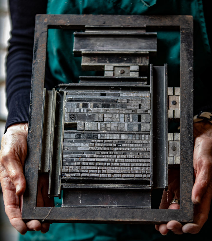 The Printing Press, photograph by Duncan Walker