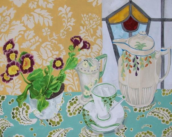 Claire Leggett painting