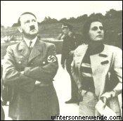 Hitler mit Leni Riefenstahl