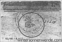 Auschwitz, one Mark