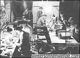 Unterirdische Fabrik