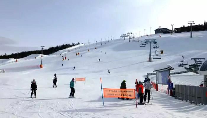Wintersportgebieden in Finland