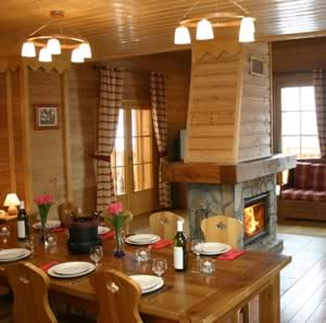 Catered chalet of appartement