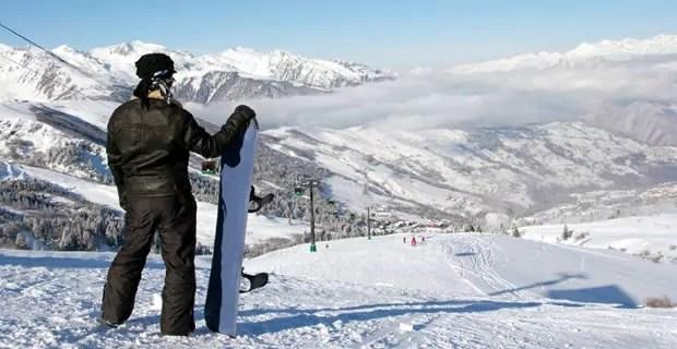 Wintersport in Saint-François-Longchamp
